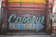 Murales muy creativos muy hermosos del callejón de Clarion, 11 Fotos de archivo