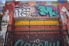 Murales muy creativos muy hermosos del callejón de Clarion, 12 foto de archivo libre de regalías