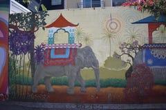 Murales muy creativos muy hermosos del callejón de Clarion, 14 foto de archivo libre de regalías