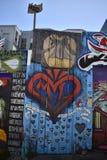 Murales muy creativos muy hermosos del callejón de Clarion, 20 fotografía de archivo