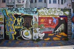 Murales muy creativos muy hermosos del callejón de Clarion, 21 foto de archivo