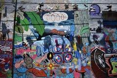Murales muy creativos muy hermosos del callejón de Clarion, 23 fotografía de archivo