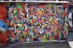 Murales muy creativos muy hermosos del callejón de Clarion, 28 imágenes de archivo libres de regalías