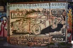 Murales muy creativos muy hermosos del callejón de Clarion, 34 fotos de archivo