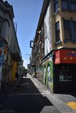 Murales muy creativos muy hermosos del callejón de Clarion, 58 fotografía de archivo libre de regalías