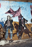 murales orgosolo Σαρδηνία Στοκ Φωτογραφίες