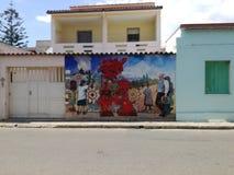 Murales San Sperate Sardinia Stock Photography