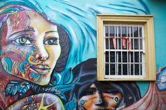 Murales in Valparaiso, Chile Lizenzfreie Stockbilder