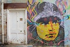 Murales in Valparaiso, Chile Stockbild