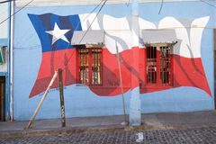 Murales in Valparaiso, Chile Lizenzfreies Stockfoto