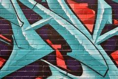 Murales w Vancouver, kolumbiowie brytyjska Kanada Zdjęcie Stock