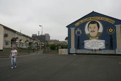 Murali suddito fedeli sulla mezzaluna di Hopewell di William Bucky McCullough. Immagini Stock Libere da Diritti