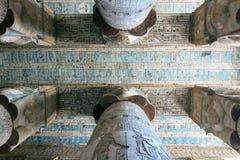 Murali variopinti e colonne Fotografie Stock