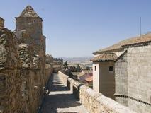 Muralla De ville d'Avila, Avila images libres de droits