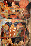 The murals -ancient religious paintings The Church of Saint Sophia (Trabzon) Royalty Free Stock Images