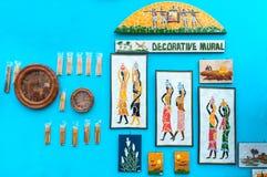 Murals , Art work , Indian handicrafts fair at Kolkata Royalty Free Stock Photo