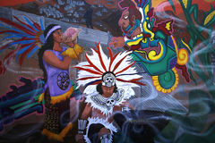 Murals of Balmy Alley, San Francisco, California, USA Royalty Free Stock Images