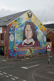 Murals in Belfast. Murals in Northern Ireland have become symbols of Northern Ireland, depicting the region's past and present political and religious divisions royalty free stock photography