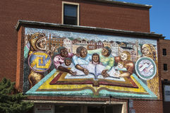 Murals in Chicago Royalty Free Stock Photo