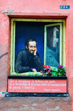 Murals dedicated to the giournalist peppino impastato Stock Images