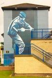 murals Derry Londonderry L'Irlanda del Nord Il Regno Unito Immagine Stock