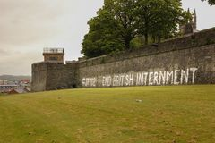 murals Derry Londonderry Północny - Ireland zjednoczone królestwo Obrazy Royalty Free