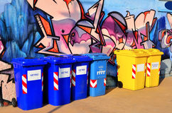 Murals and recycling Stock Photo