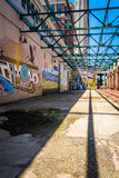 Murals in Richmond, Virginia. Stock Photo