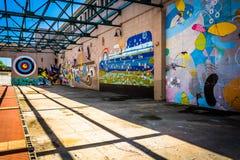 Murals in Richmond, Virginia. Stock Photos