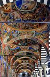 Murals from Rila Monastery royalty free stock image