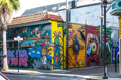 Murals in San Francisco Royalty Free Stock Image
