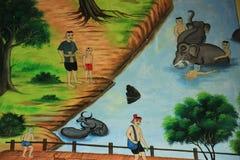 Murals Stock Photo