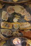 Murals under the dome in the Church of the Holy Savior Outside the Walls. Second name of it now is The Kariye Museum in Istanbul,. Turkey, Istanbul 14,03,2018 stock photo