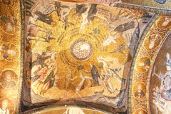 Murals under the dome in the Church of the Holy Savior Outside the Walls Royalty Free Stock Photography