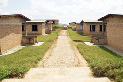 Murambi teknisk skola, Rwanda Arkivbild