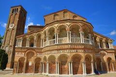 Murano, Museo del Vetro, Venize,意大利 库存照片