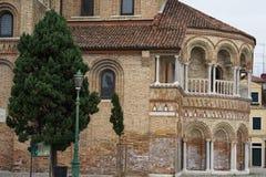 Murano ö, Venedig, Italien royaltyfri fotografi