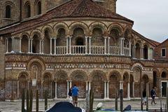 Murano ö, Venedig, Italien fotografering för bildbyråer