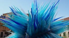 Murano, Βενετία, Ιταλία Το έργο τέχνης κομητών, που γίνεται από glassmakers που βρίσκονται στην πλατεία Santo Stefano απόθεμα βίντεο