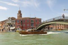 Murano,威尼斯,意大利 免版税库存照片