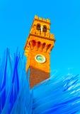 在Murano在意大利 免版税库存照片