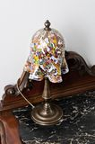 Murano Bedside Lamp Stock Image