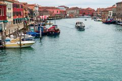Murano Canal Royalty Free Stock Images