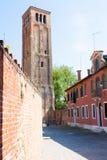 Murano church bell tower,Venice Stock Photos