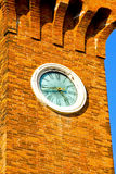 Murano clock Stock Image