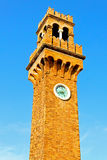 Murano clock tower Stock Image