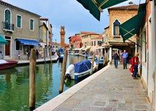 Murano di Venezia Immagini Stock Libere da Diritti