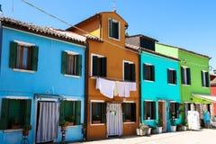 Murano-Dorf Lizenzfreie Stockfotos