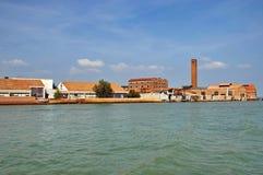 Murano, eiland van glasswork Stock Foto