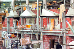 Murano factory 2 Royalty Free Stock Photos
